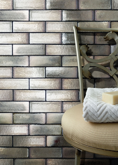 Brique Metal Tile