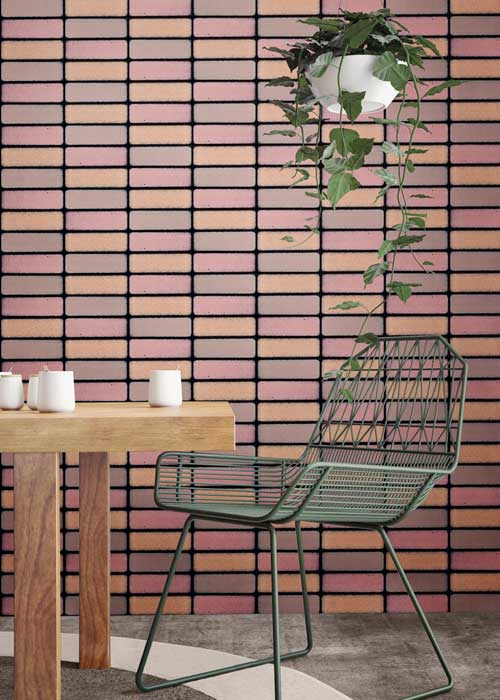Brique Pink Tile