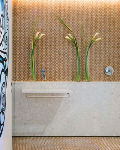 Cork_Mosaic_Tile_Shower_Full