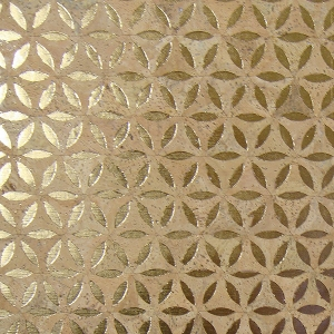 Fiore Gold Cork Fabric