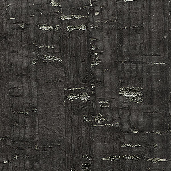 "Minore Black Metallic, 10 Yards, 57"" Roll of Cork Fabric ..."