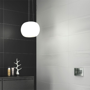 Nanofantasy White Porcelain Tile