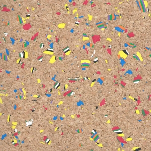 MultiColor Cork Fabric