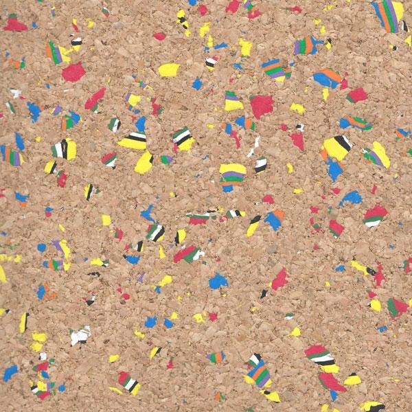 MultiColor Cork Fabric