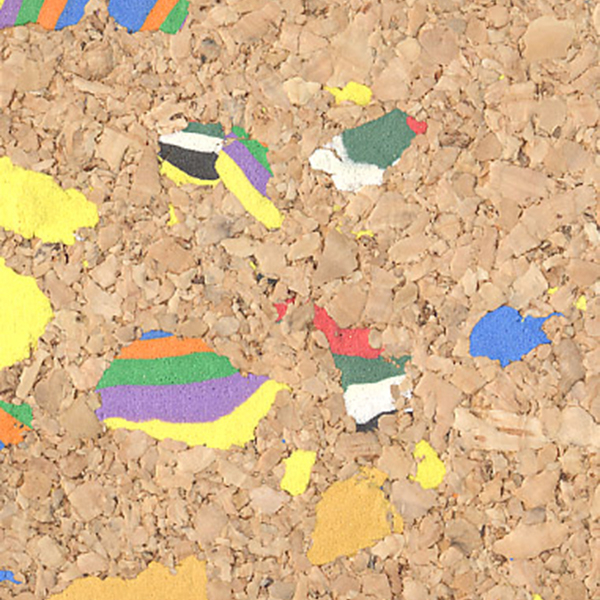 MultiColor Confetti Cork Fabric