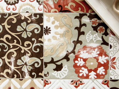 Ortigia Tile Feature on Habitus Outlet