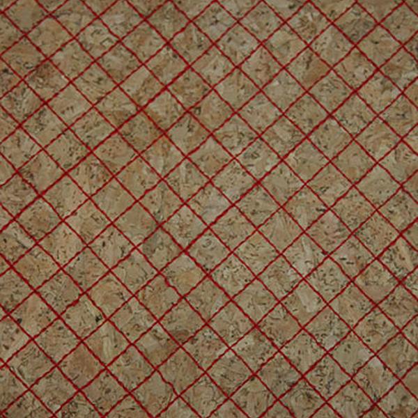 Triplex Rete Rossa Cork Fabric