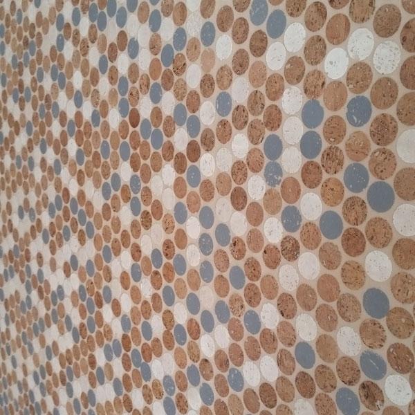 Habitus Cork Mosaic Tile Color Mix