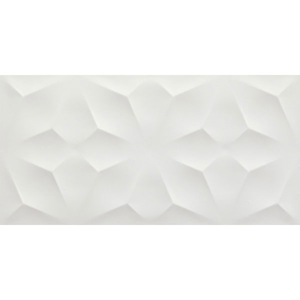 Diamond White Matte Tile