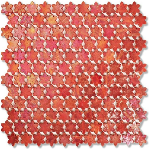 SICIS NeoGlass Petite Fleurs F08 Poppy