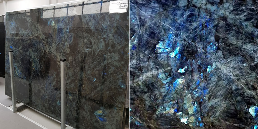 Lemurian Blue Slabs