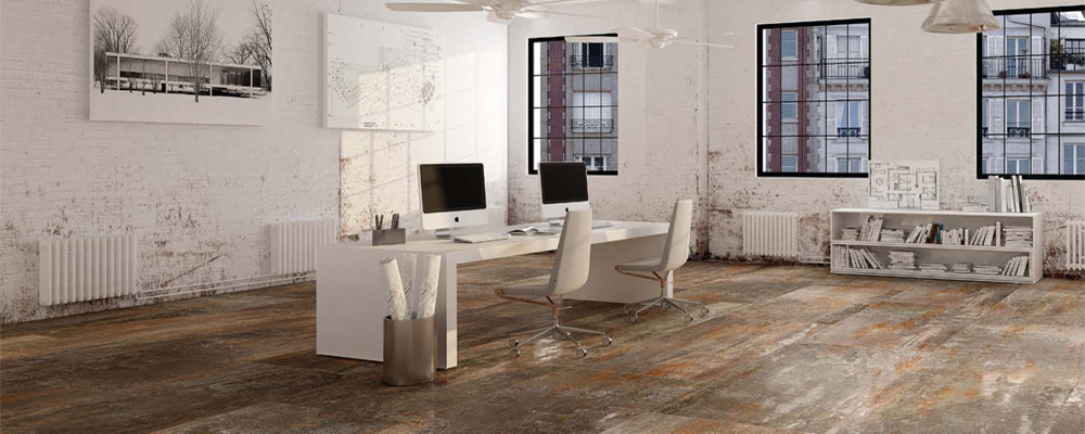 Metal Look Porcelain Tile