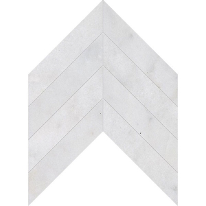 Diamante Polished Chevron Marble Tile