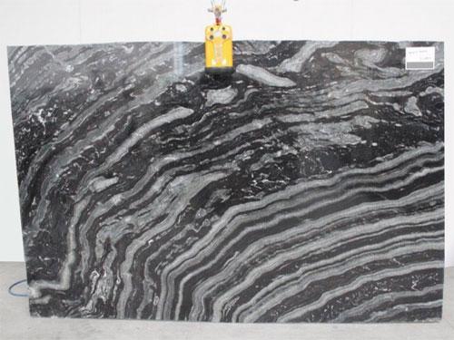Black Agata Stone Slab
